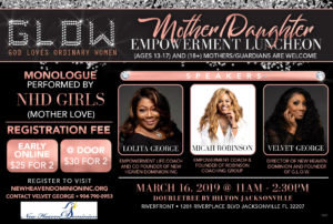 GLOW: Mother Daughter Empowerment Luncheon @ Double Tree by Hilton