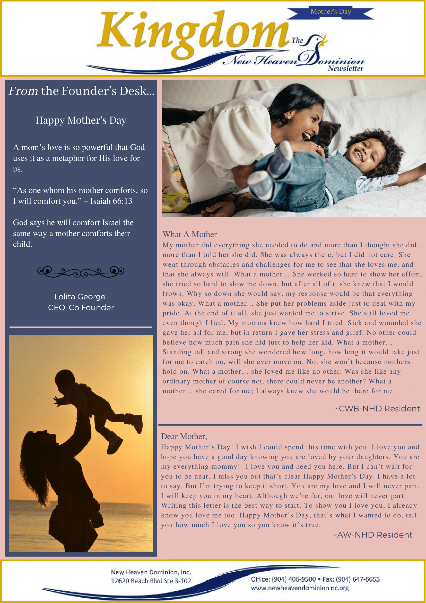 New Heaven Newsletter (2) 1